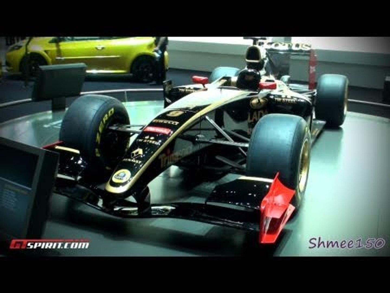 Lotus Renault GP Formula 1 Car 2011 - Geneva 2011 with GTspirit.com
