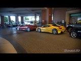 Dubai Combo: Ferrari FF, 458, F430, 612, V8 Vantage, Audi R8 x2
