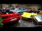 How Many Supercars Can You Squeeze into a Showroom? Exotic Cars, Dubai