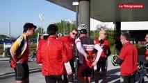 Le Relecq-Kerhuon (29). Neuf salariés à vélo jusqu'à Paris pour l'indépendance d'Arkéa