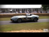 Aston Martin CC100 - Flybys on Track at Goodwood