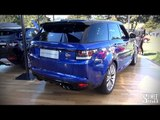 WORLD DEBUT: Range Rover Sport SVR - Intro and Revs