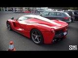LaFerrari, Huayra, Veyron - Car Park at RM Auctions Battersea