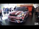 Range Rover Sport SVR - Crazy Loud Revs and Sneak Peak #SoundofSVR