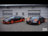 Veyron Super Sport WRE and Vitesse WRC Together for the First Time!