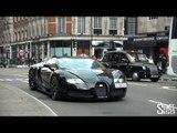 Bugatti Veyron Grand Sport - Black and Yellow Bug in London