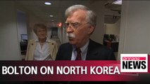 North Korea's nuclear facilities must be completely and irreversibly removed: Bolton
