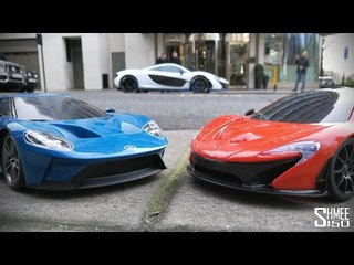Christmas RC SHOWDOWN! Ford GT vs McLaren P1