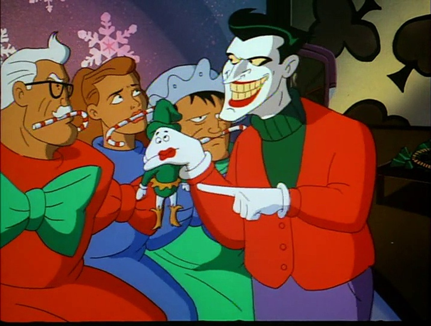 Christmas With The Joker.Batman T A S S01 E02 Christmas With The Joker
