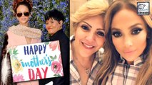 Hollywood Celebs Celebrating  Mother's Day