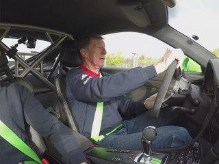 Un tour en Porsche 911 GT3 RS du circuit GP du Nurburgring avec Walter Rohrl