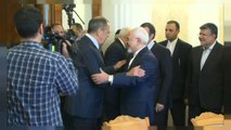 Russian and Iranian foreign ministers discuss future of Iran nuclear deal