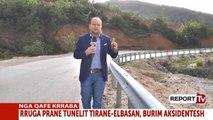 Report TV - Pas apelit të Report Tv, vendosen barrierat mbrojtëse te 'Kthesa e Vdekjes' në Krrabë
