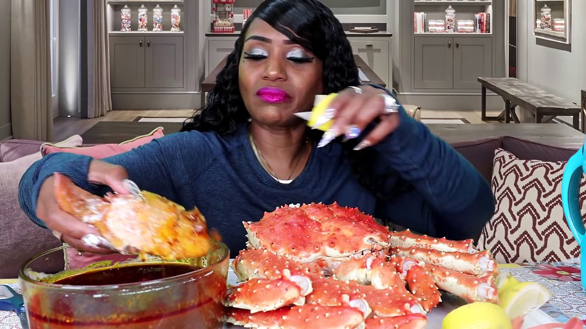 Mother's Day Seafood Boil with Curtis the Crab