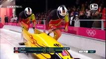 L'équipe d'Allemagne de bobsleigh ne semble pas être prête ! LOL