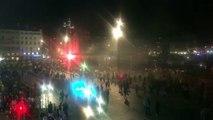 OM-Atlético : les supporters quittent le Vieux-Port, quelques provocations envers les CRS