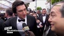 """Adam Driver """"Travailler avec Spike Lee, c'est une ambiance très familiale"""" - Cannes 2018"""