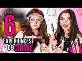 ON FAIT DES EXPÉRIENCES CHIMIQUES ! Avec Clara Marz et Sophie Riche