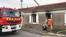 Incendie rue de Saint-André-d'Ornay : pas de blessé