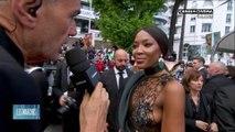 """Naomi Campbell """"Cannes m'a toujours très bien accueilli, c'est un très bel événement"""" - Cannes 2018"""