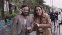 """Laetitia Dosch et Romain Duris """"C'est que de l'impro, on réinvente chaque scène"""" - Cannes 2018"""