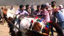 Jornada sangrienta en la Franja de Gaza