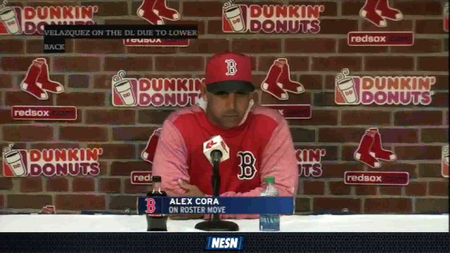 Alex Cora Discusses Steven Wright's Role In Red Sox Bullpen