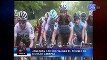 Jonathan Caicedo habla del buen momento del ciclismo ecuatoriano