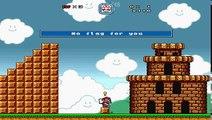 Super Mario Bros  X (SMBX) custom level - Frog Park - video