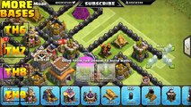 Best Town Hall 8 (TH8) Farming Base With Replays - Protect Town hall And storages