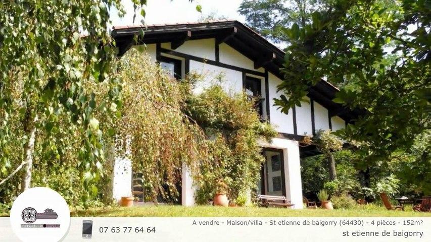 A vendre - Maison/villa - St etienne de baigorry (64430) - 4 pièces - 152m²