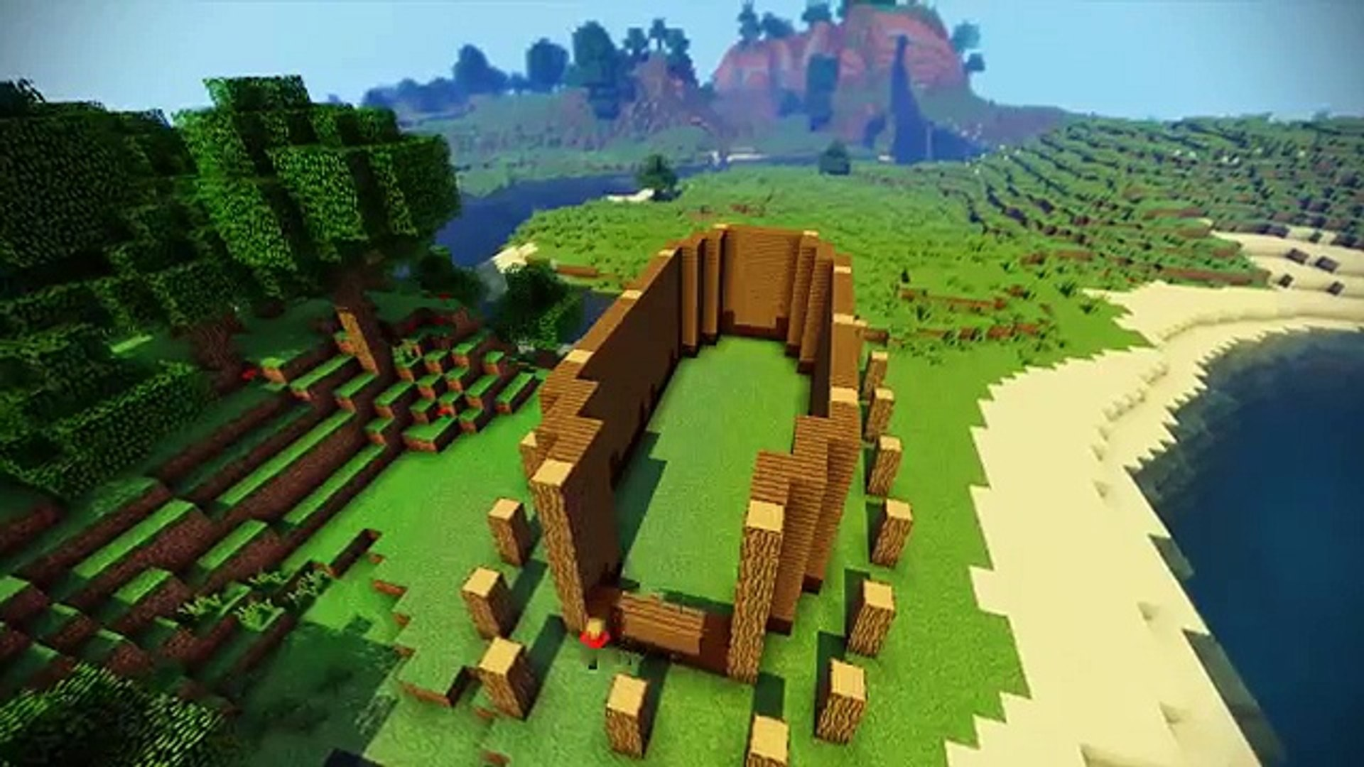 Minecraft Viking House Tutorial Video Dailymotion