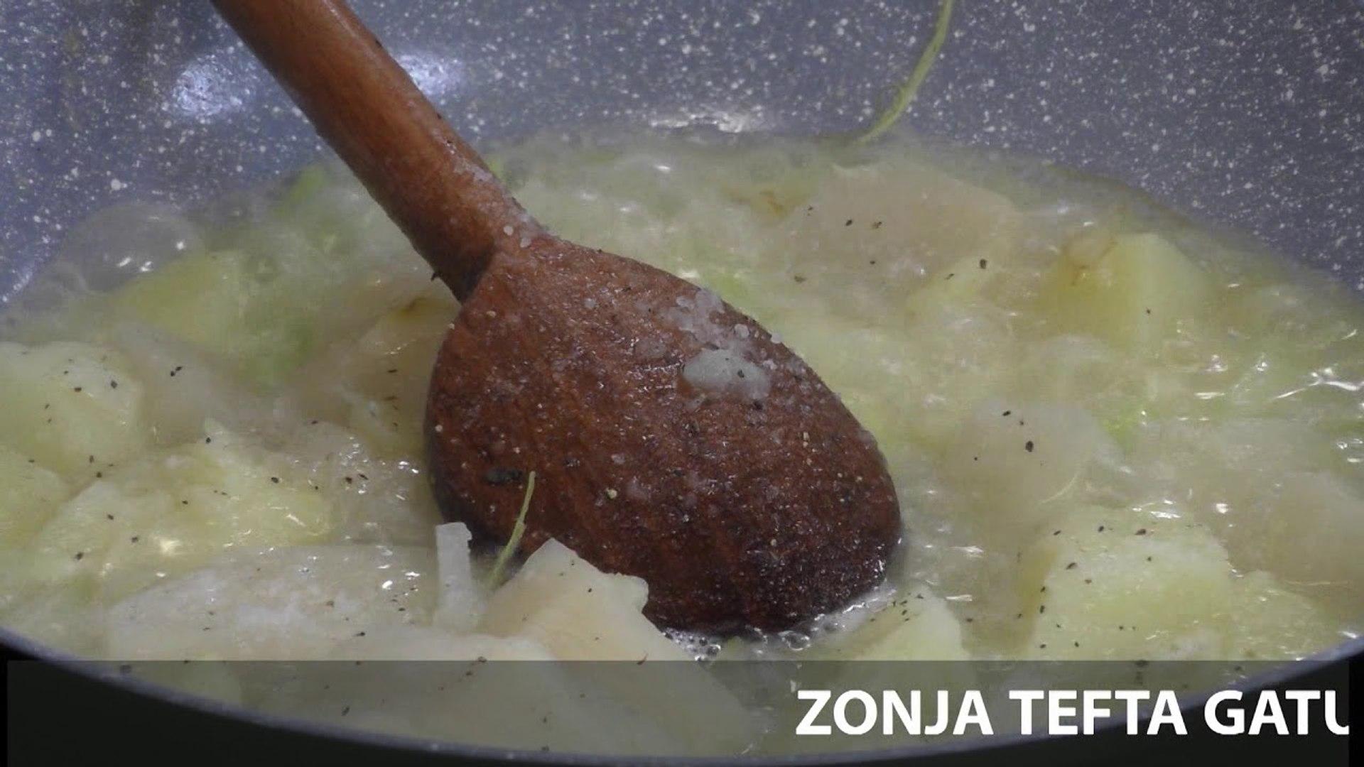 Te gatuajme me Zonjen Tefta PJ2 Ravioli te castit me lakra te egra e salce Seleno, Kofshe pule me sp