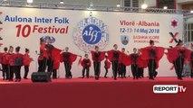 Report TV - Festivali 'Aulona Folk', çel sezonin turistik në Vlorë