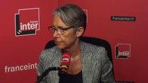 """Élisabeth Borne, ministre chargée des Transports : """"Défendre le service public, ça ne peut pas passer par sectionner des caténaires"""""""