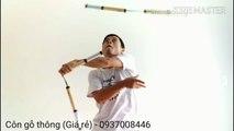 [Côn giá rẻ] Côn nhị khúc gỗ thông. Côn gỗ thông. #Kanshop nunchaku. #Kanclub