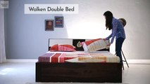 Top 5 Double Beds : Best Bed Design Models Online at Wooden Street to Liven Up Your Bedroom