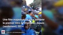 Manchester City : La présentation du trophée de champion vue à travers les vidéos des joueurs