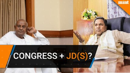 Congress in talks with JD(S) to form coalition government in Karnataka