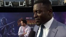 Avengers: Infinity War - World Premiere Michael Shaw Interview – Marvel Studios – Motion Pictures - Walt Disney Studios – Stan Lee – Directed By Anthy Russo