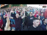 Arsenal fans takeover for Arsene's last game at Huddersfield
