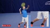 Le service au tennis - les bons gestes