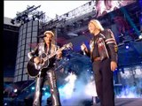 Johnny Hallyday duo avec Renaud - Quelque chose de Tennessee ( Parc des Princes 15 juin 2003 )
