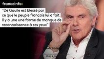 """Claude Sérillon :""""De Gaulle est blessé par ce que le peuple français lui a fait. Il y a une une forme de manque de reconnaissance à ses yeux"""""""