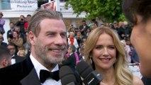 """John Travolta """"Cannes, c'est les meilleurs souvenirs de ma vie, tout a commencé ici"""" - Cannes 2018"""