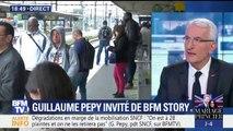 """Réforme de la SNCF: """"Je ne démissionnerai pas"""", assure Guillaume Pépy"""