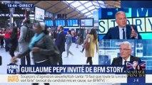 """Dégradations en marge de la mobilisation SNCF: """"On est à 28 plaintes et on ne les retirera pas"""", Guillaume Pepy"""