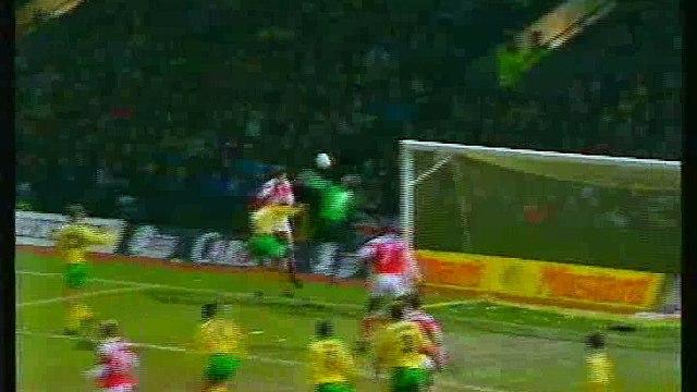 Norwich City - Arsenal 13-02-1994 Premier League