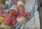 Newborn Twins Stop Crying as They Comfort Each Other