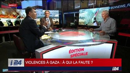 Débat : violences à Gaza  : à qui la faute?